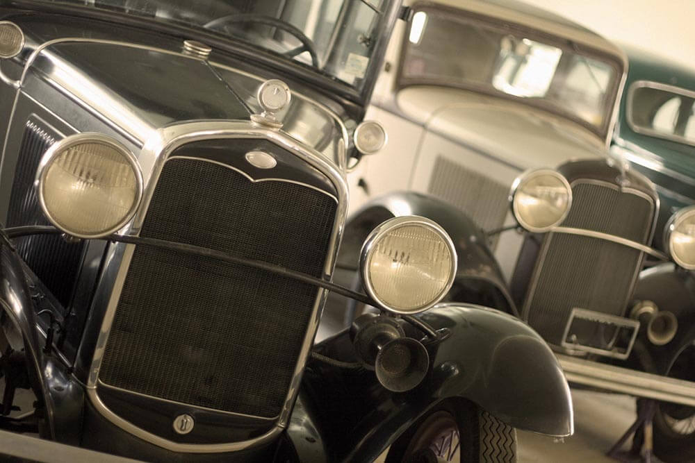 Antique Cars Stock Photo by John W. DeFeo