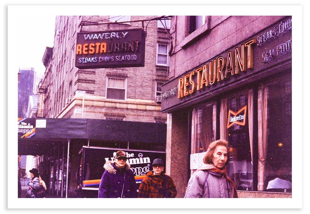One of the first photos that I took in New York, photographed when I was a freshman at NYU.