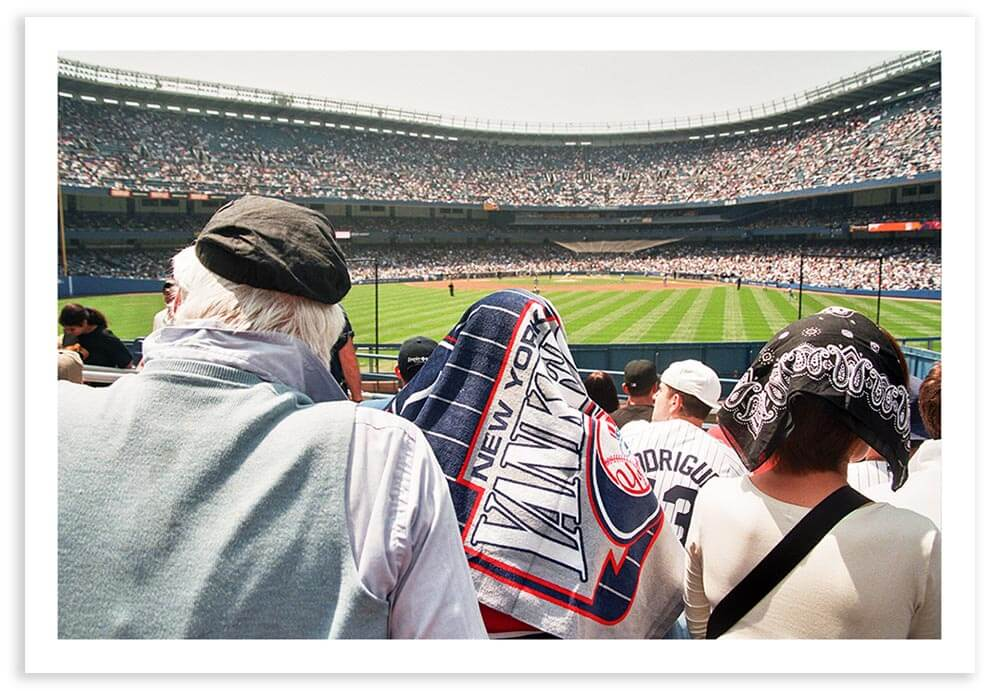 Sitting in the bleachers at the old Yankee Stadium was an affordable luxury.