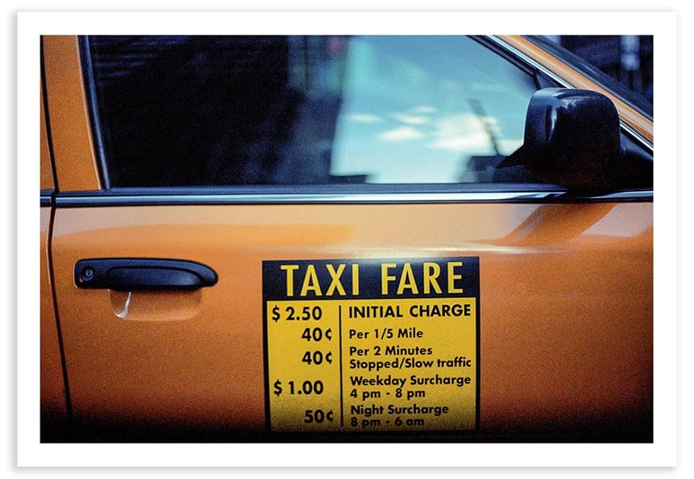 Fifteen years ago, a taxi was an unaffordable luxury for me.