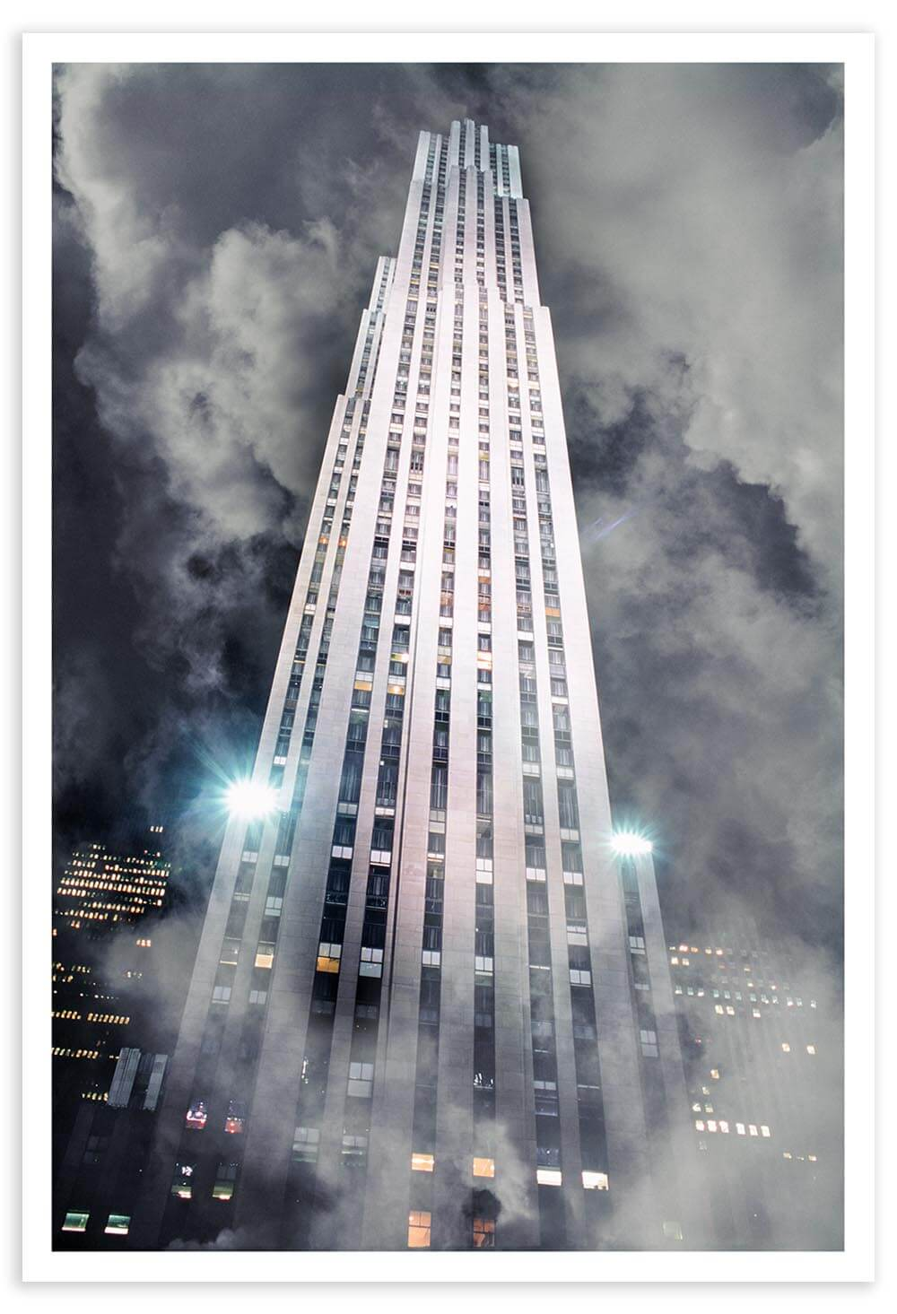 30 Rockefeller Plaza is one of the most majestic buildings in New York.