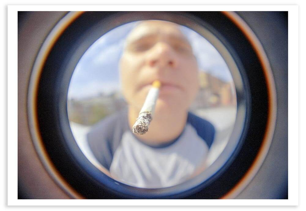 It amazes me that most Americans will go their entire lives without looking through a peephole.