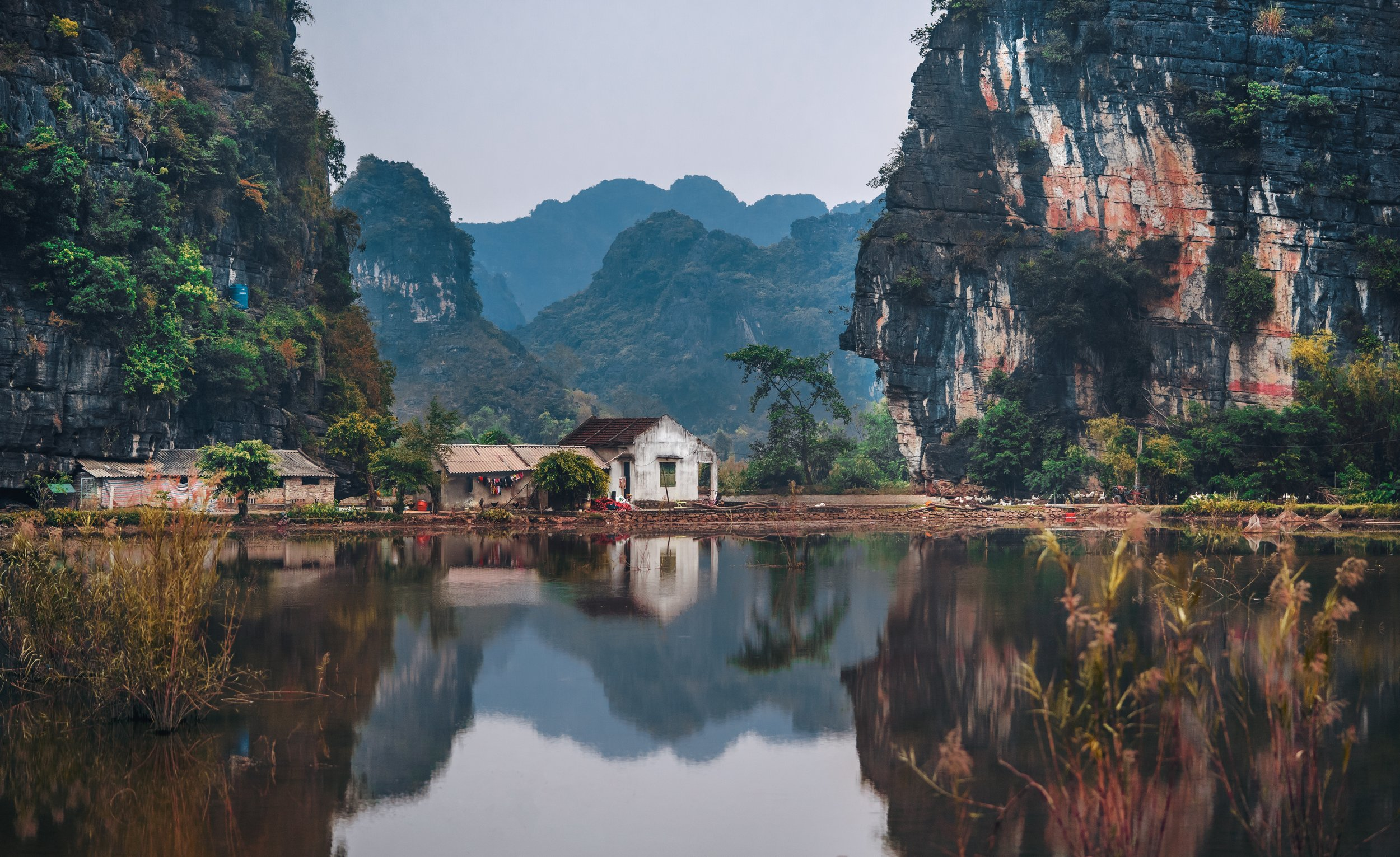 Imagine living here with these breathtaking surroundings in Ninh Bình, Vietnam. This was taken by  Ruslan Bardash  with a  Sony ILCE-7RM2 .