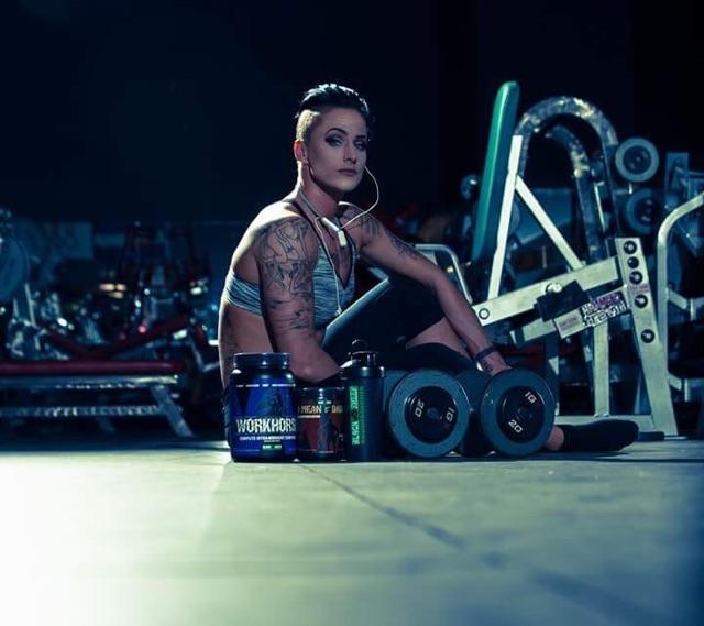 - Black Sheep Supplements Athlete Kristina Hendershott