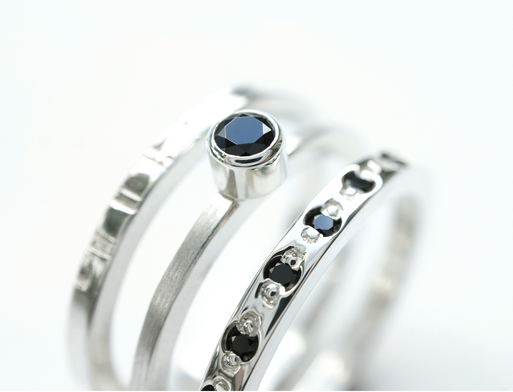 Stacked Ring Set -