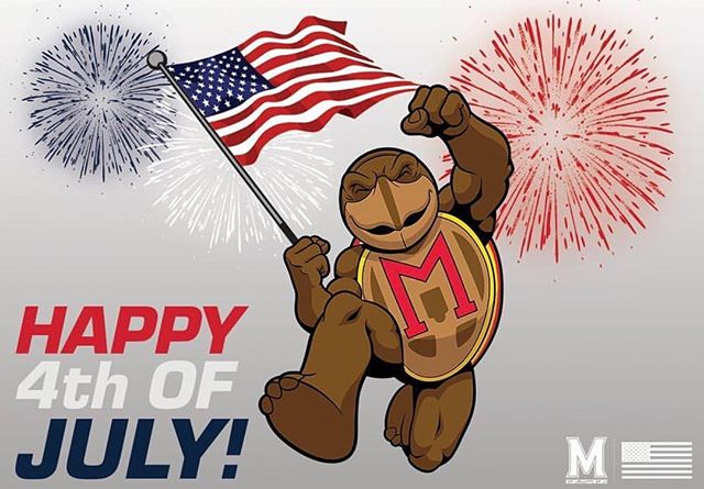 Happy Independence Day, Terps! 🇺🇸