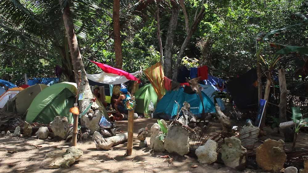 regular camping -