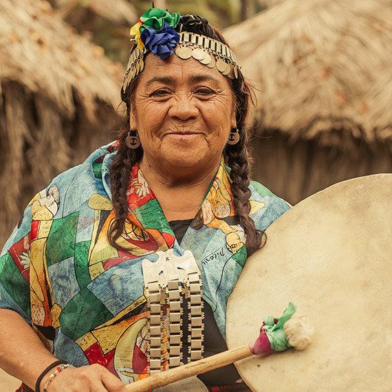 MAPUCHE FROM CHILE