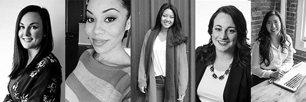 Tara Clark, Gaby Brisebois, Melody Lin, Zoey Jones, Jenny Wan