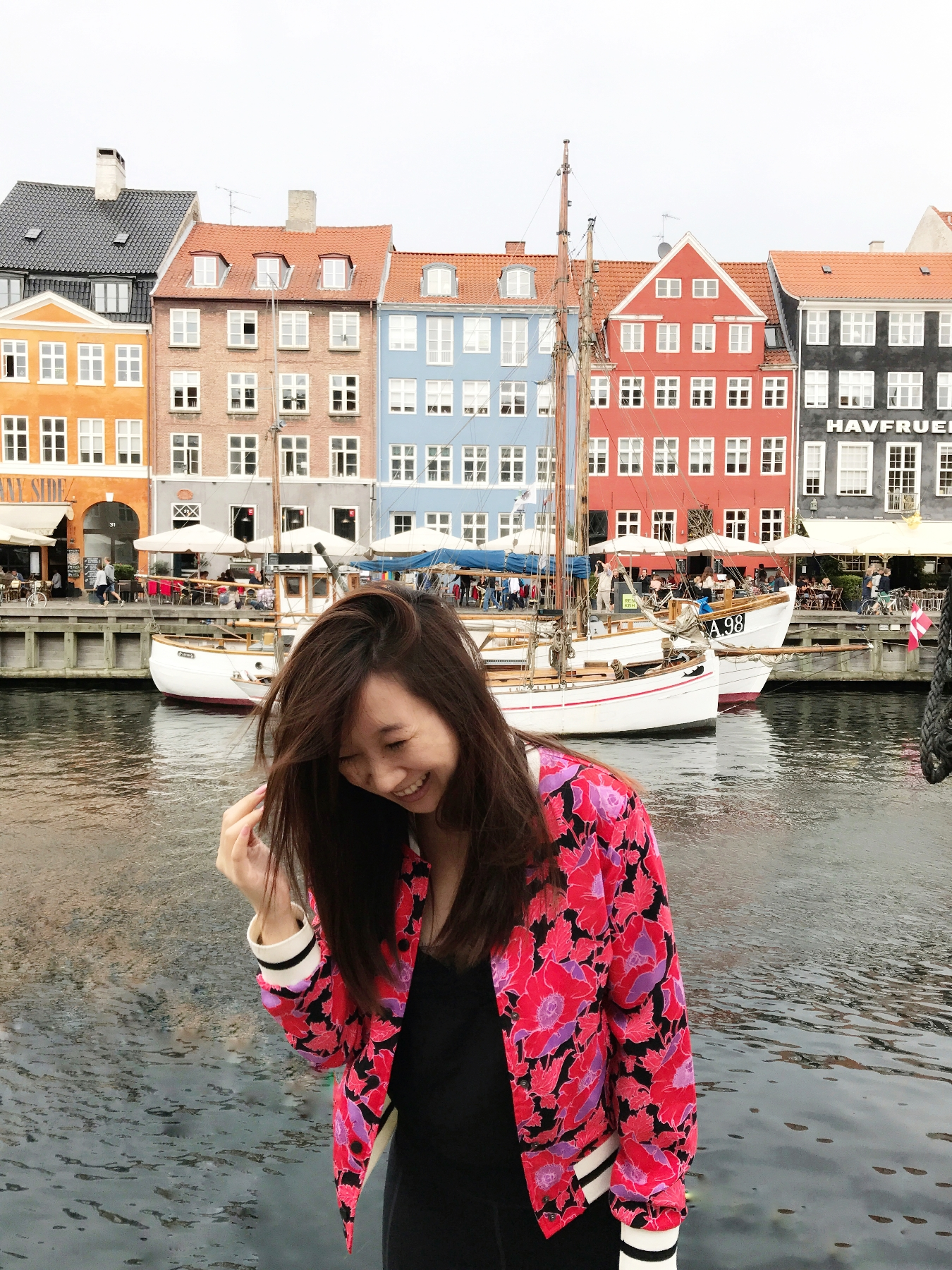 Walking alongside the colorful houses at Nyhavn was one of the highlights of my trip.