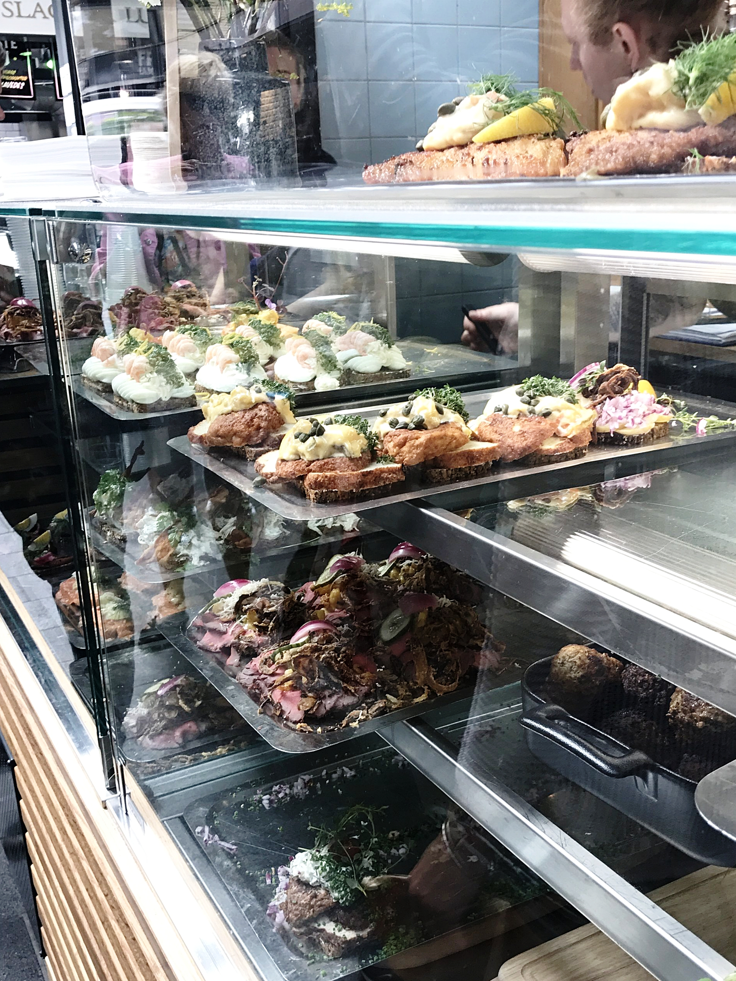 Open sandwiches are one of the must-haves in Copenhagen.