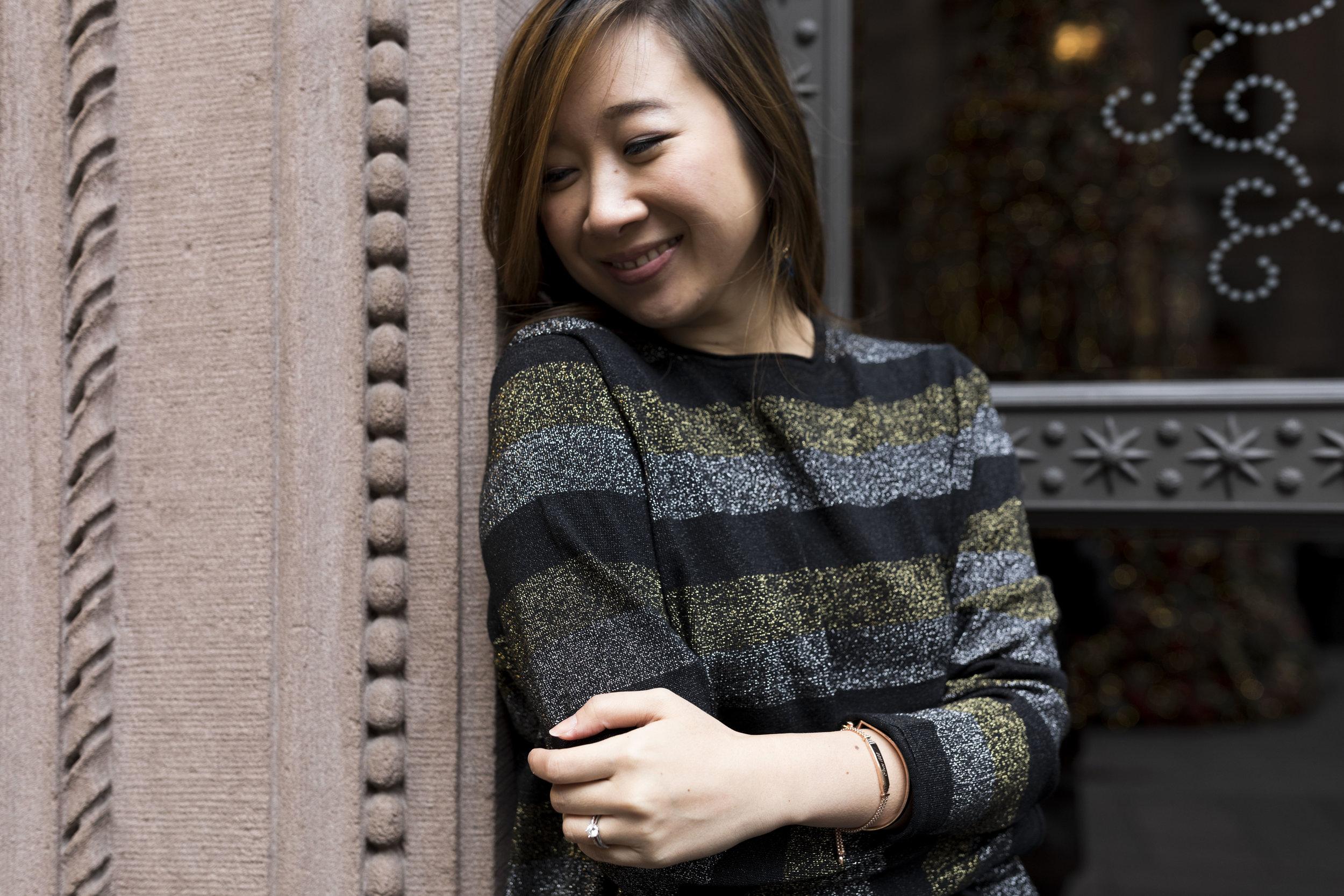 Medium Bling at 50% - This sweater says