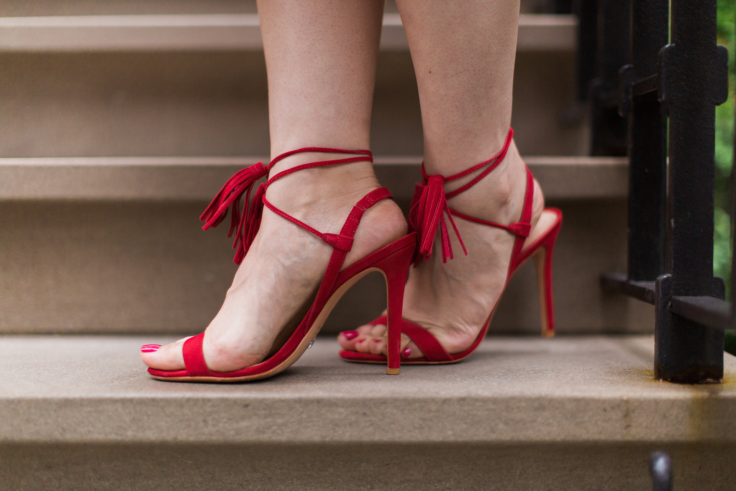 This pair of heels by Schutz was purchased on Shopbop.com. Photo by  Caitee Smith .