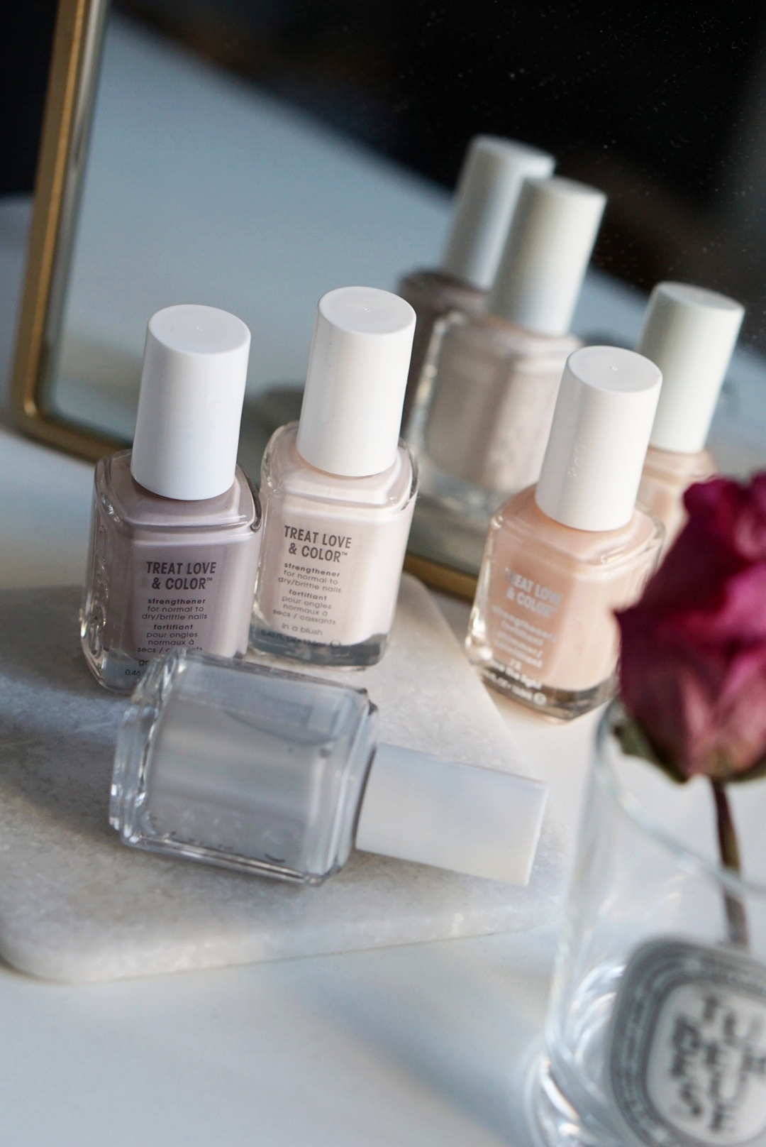 Essie's new Treat Love & Color  line is designed to strengthen your nails.