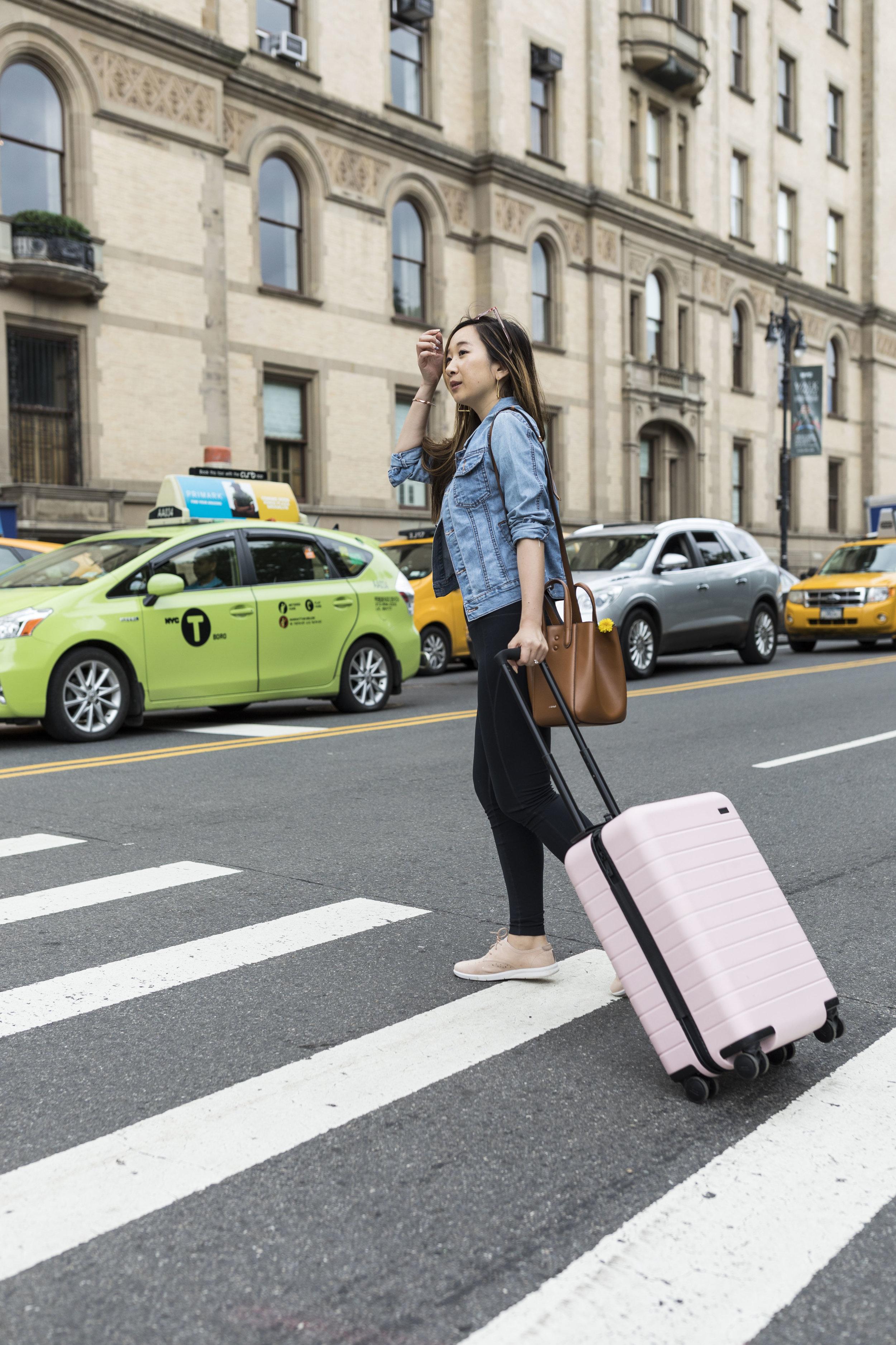 Suitcase: Away.