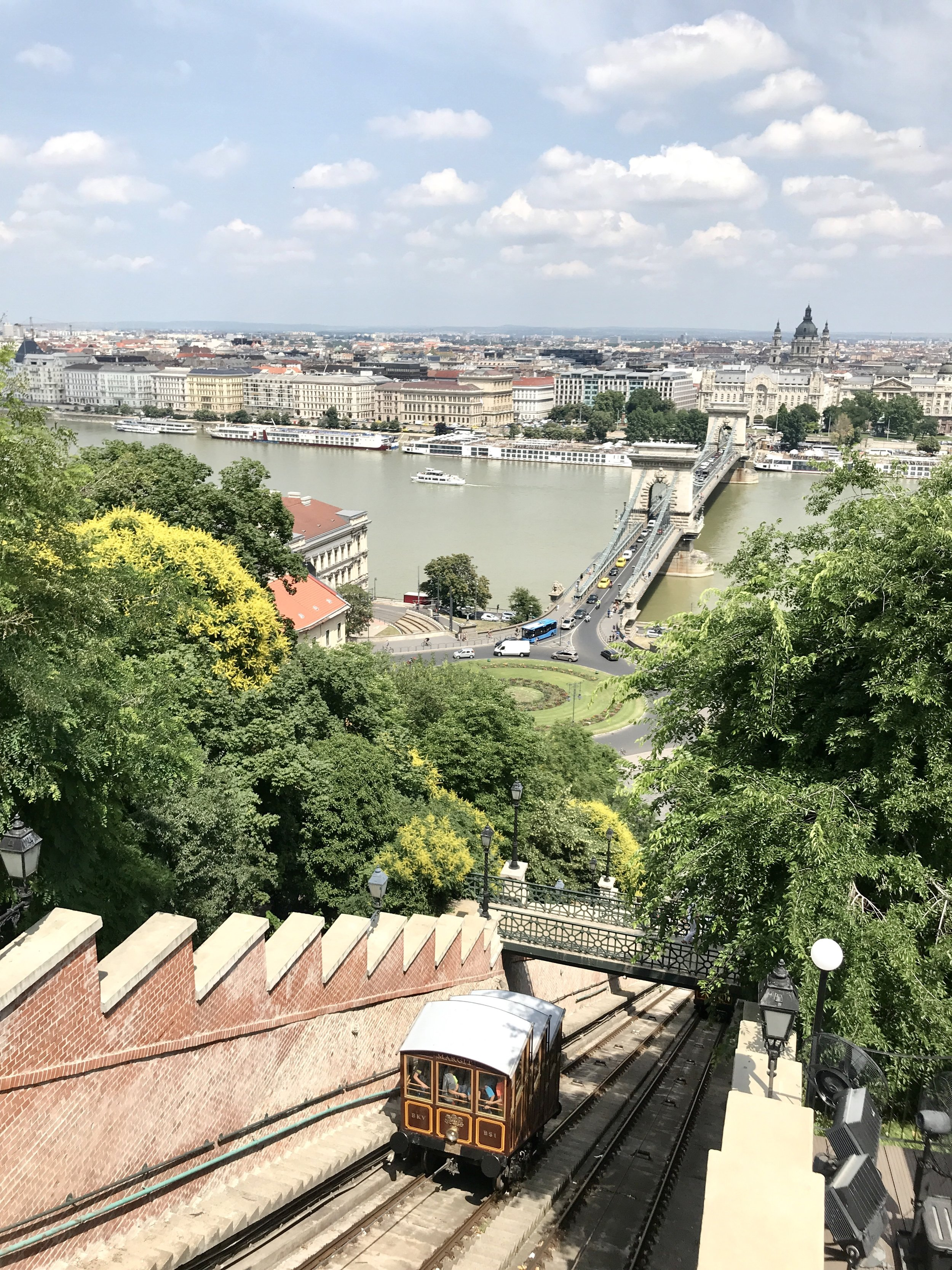 You can also get a really wonderful city view onboard the Castle Hill Funicular.