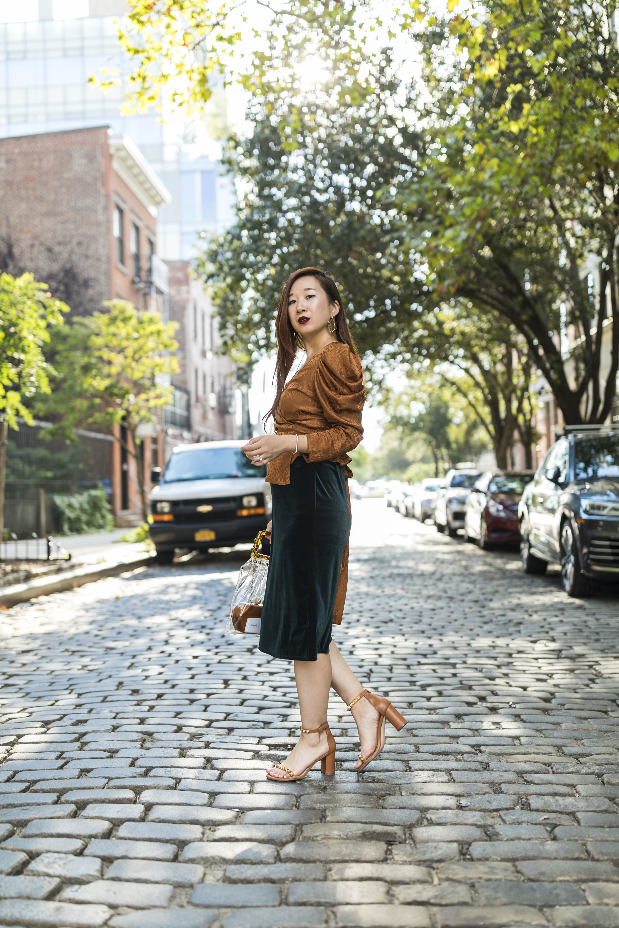 #NYFW Day 1(Part 2) - Welcoming warm autumn hues.