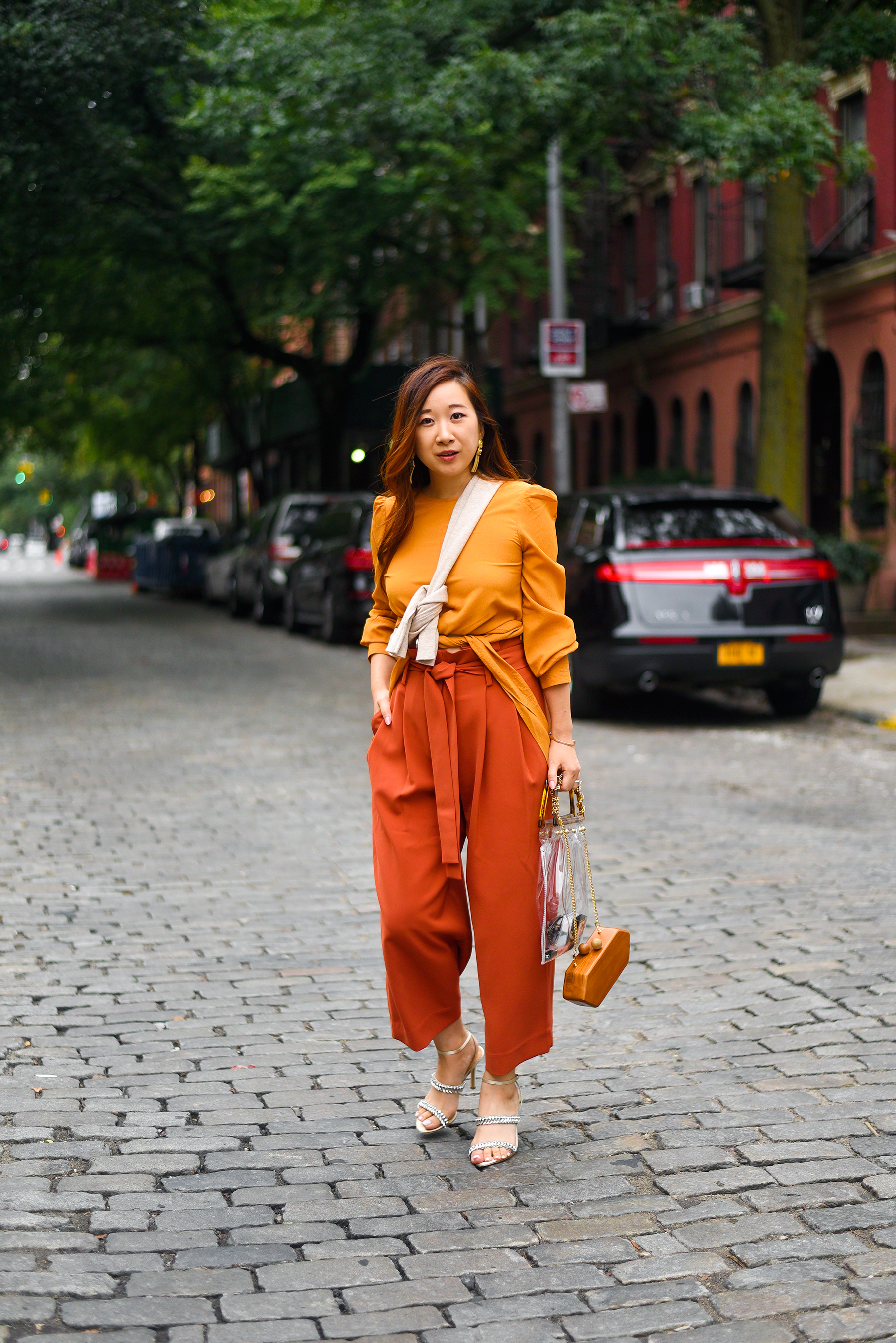 #NYFW Day 2 - Full on fall vibes.