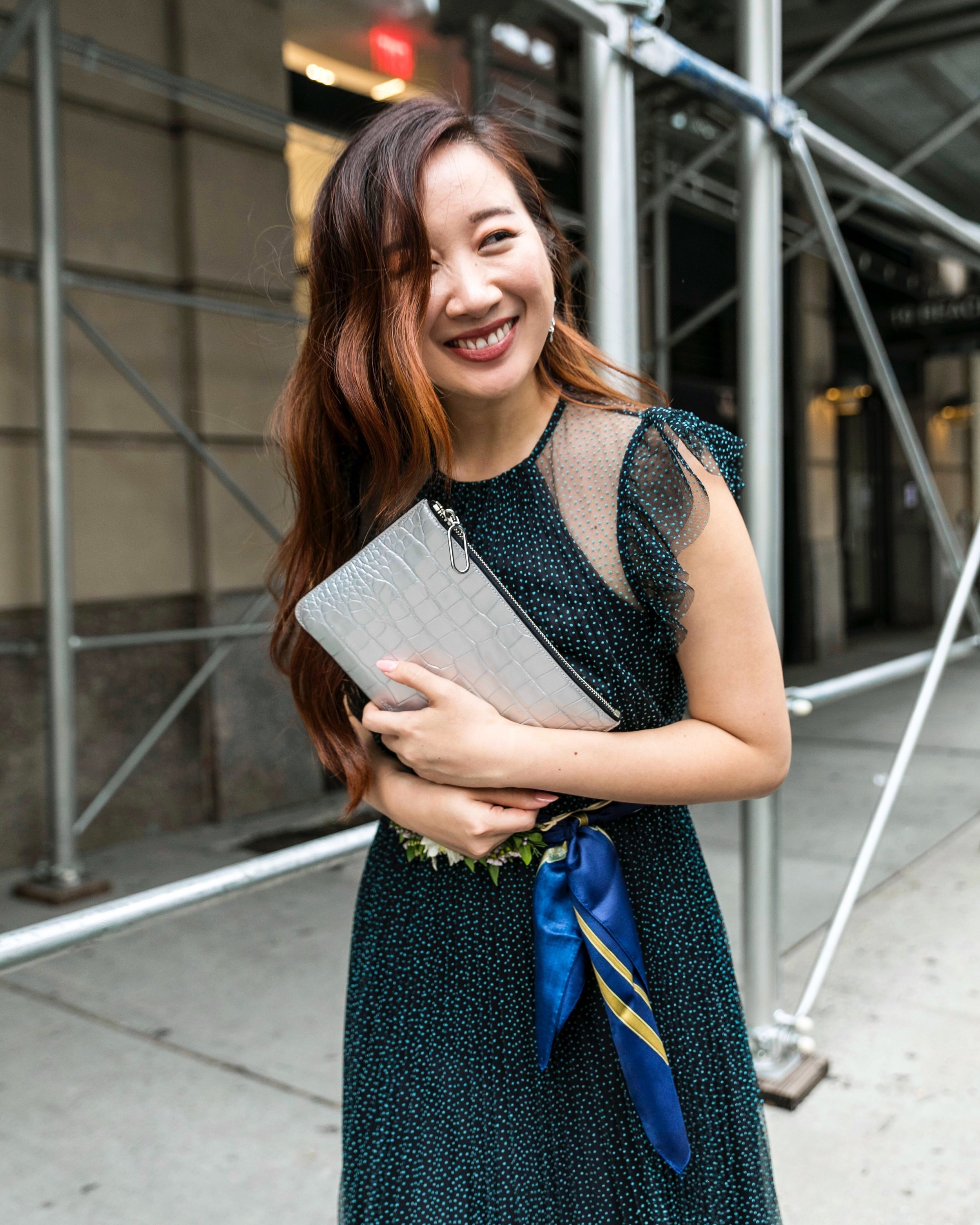 Use  happilyeverstyle15  to get 15% off your  Jeff Wan  bag. Photos by Ashley Gallerani.
