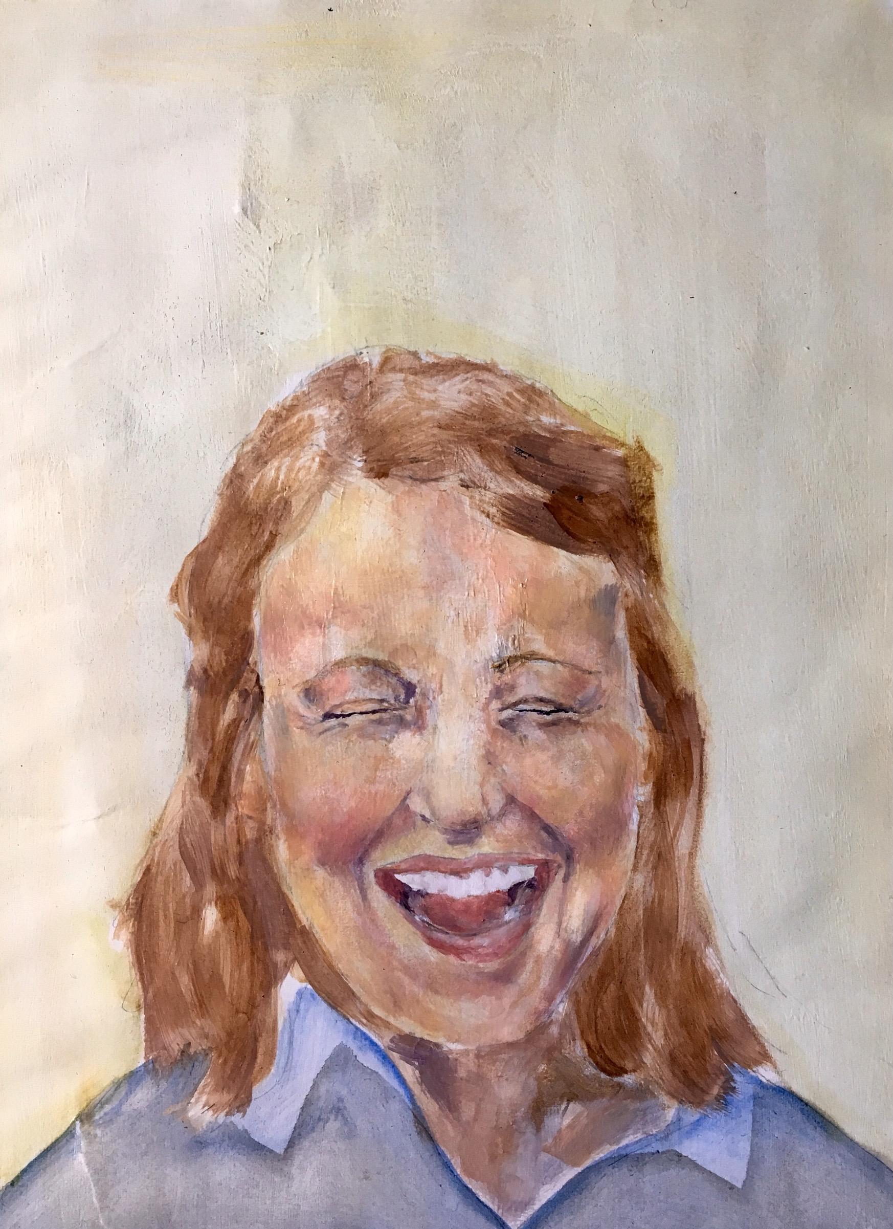 Sara Bess,Oil on Paper, 2016