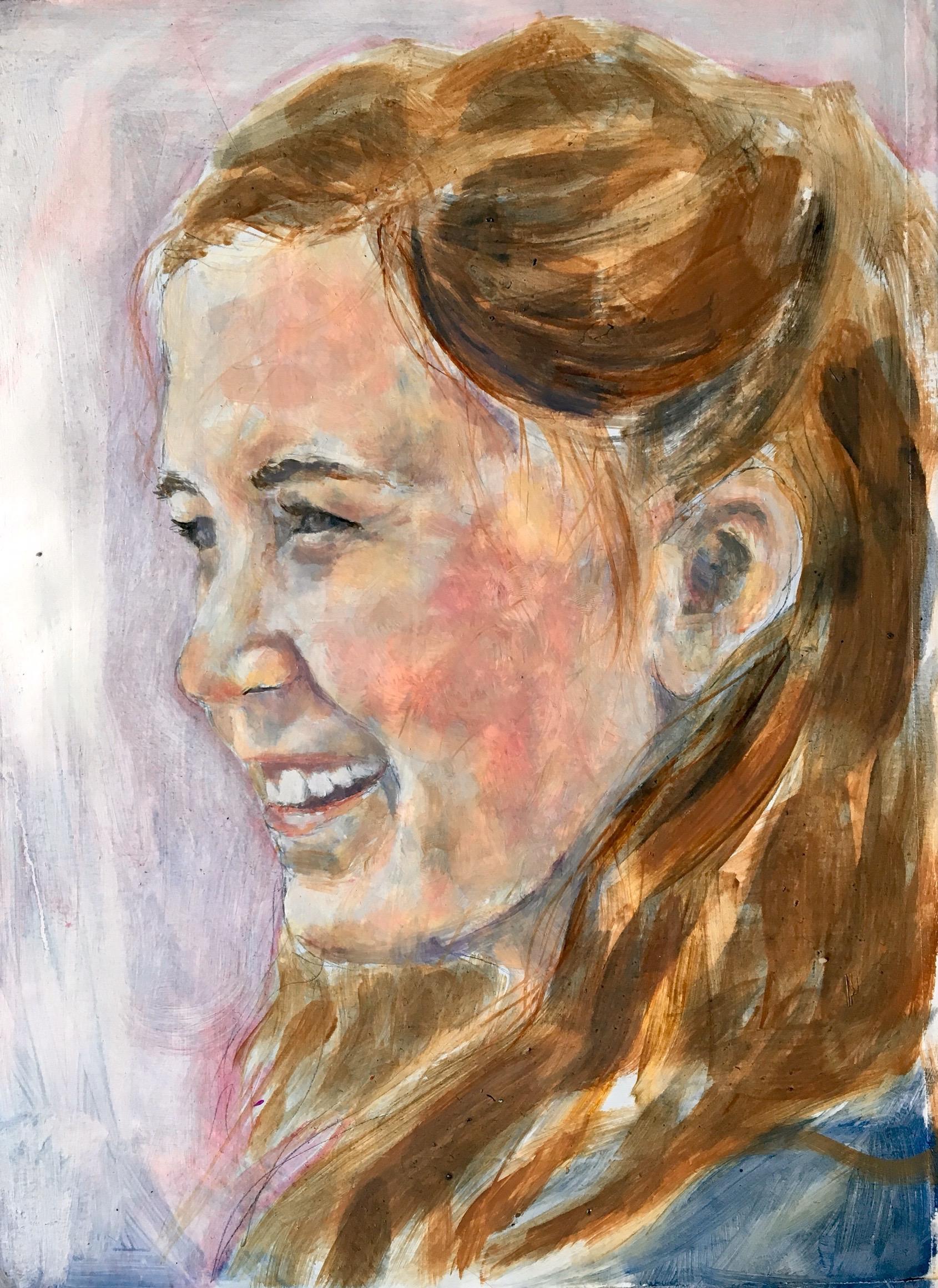 Sara Martin,Oil on Paper, 2016