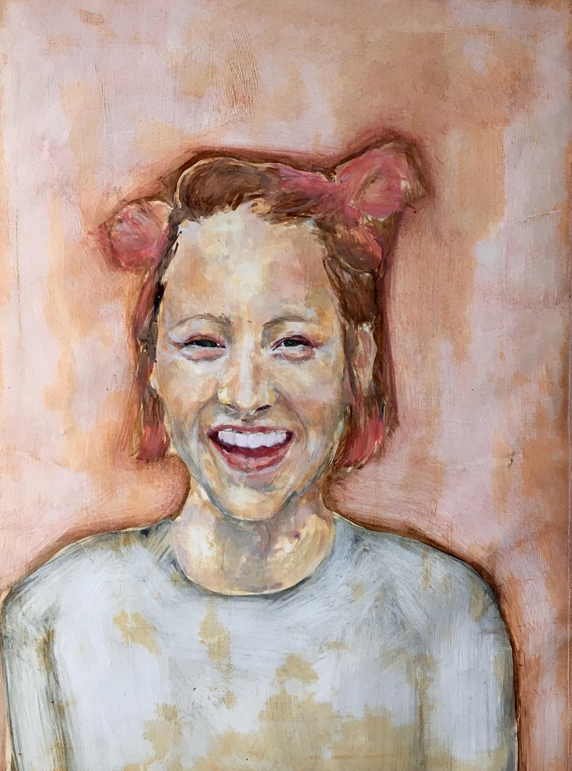 Jemima,Oil on Paper, 2016