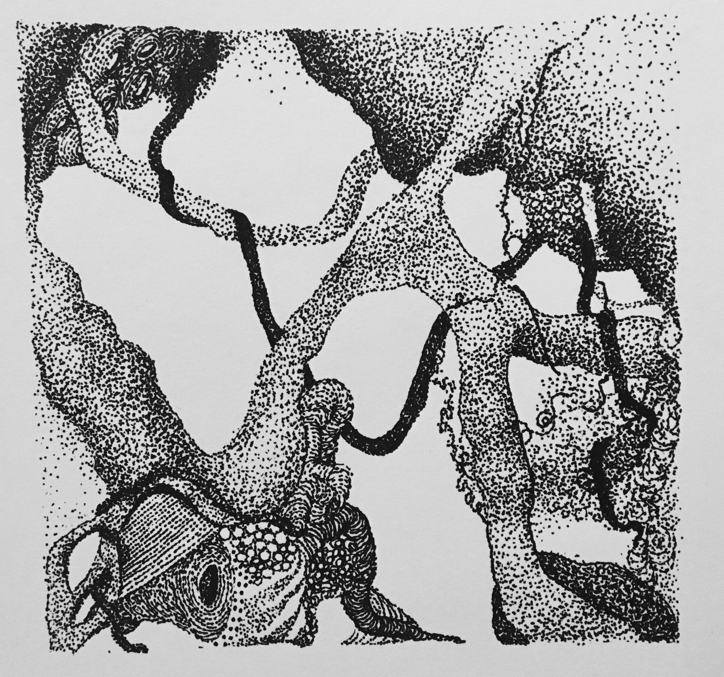 Ink Study III, 2017