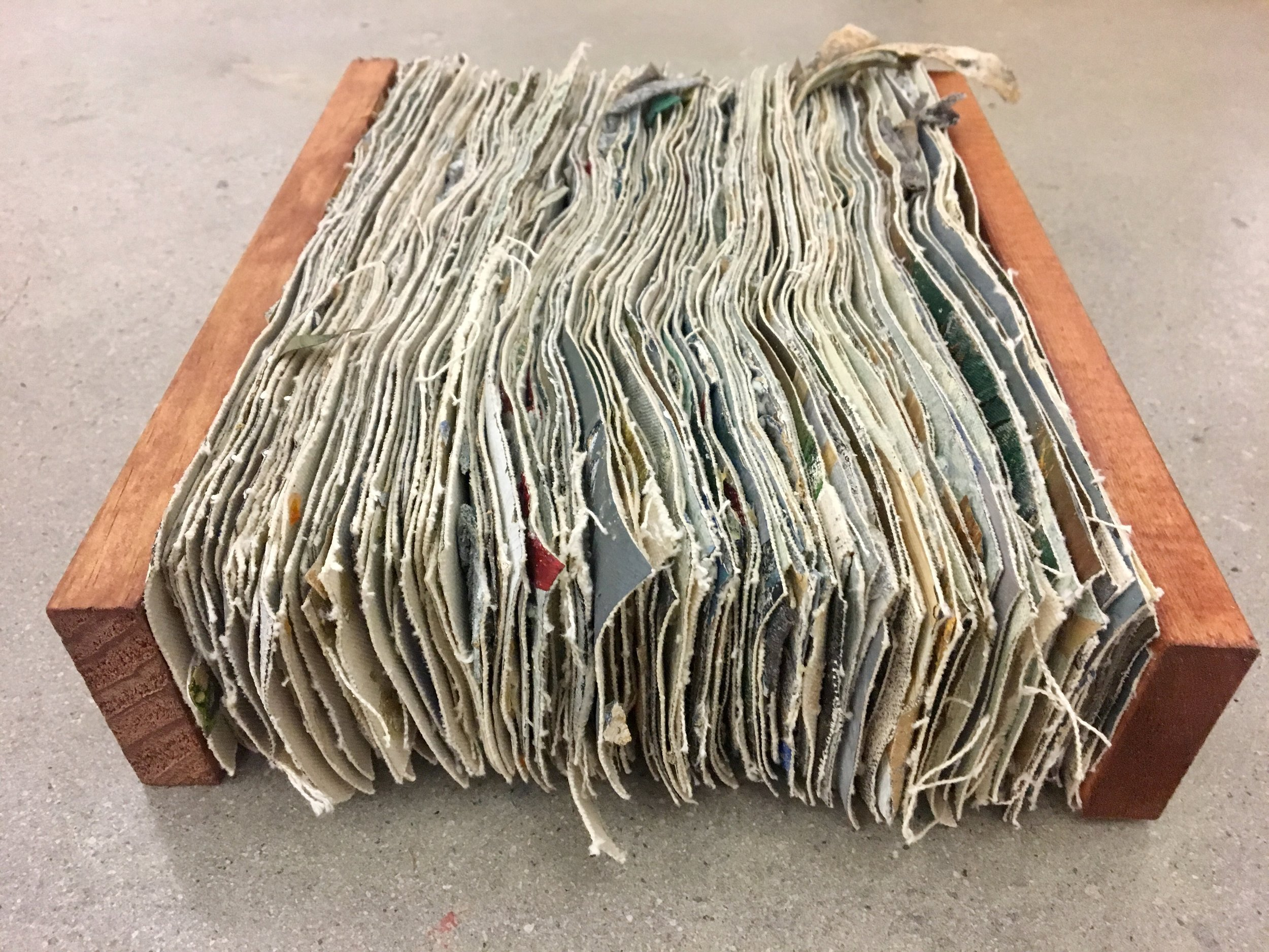 Closed Book (Ten Layer Painting)