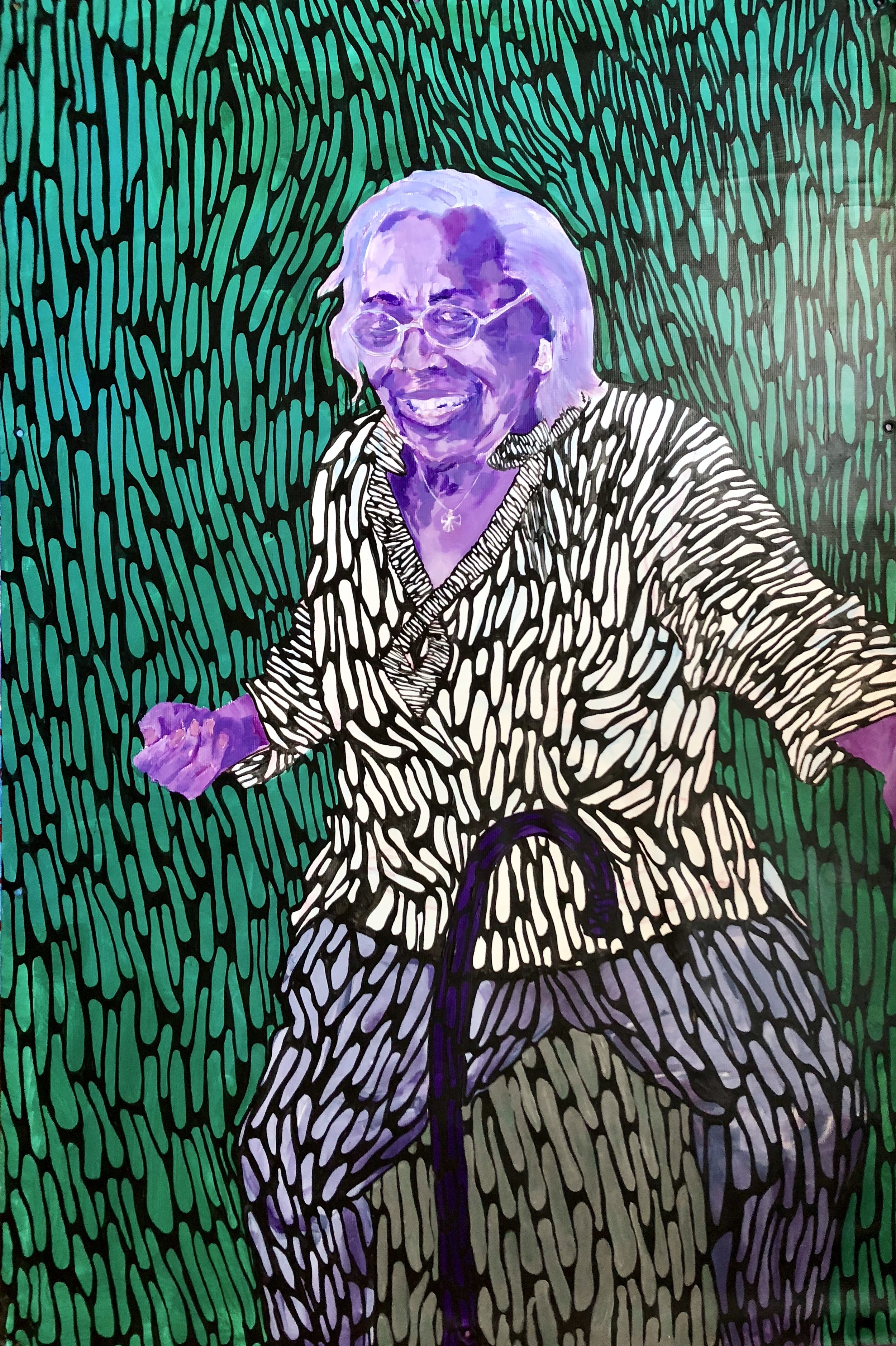 Ms. Jimmie -- Elizabeth Catlett -- Sharecropper, 1952
