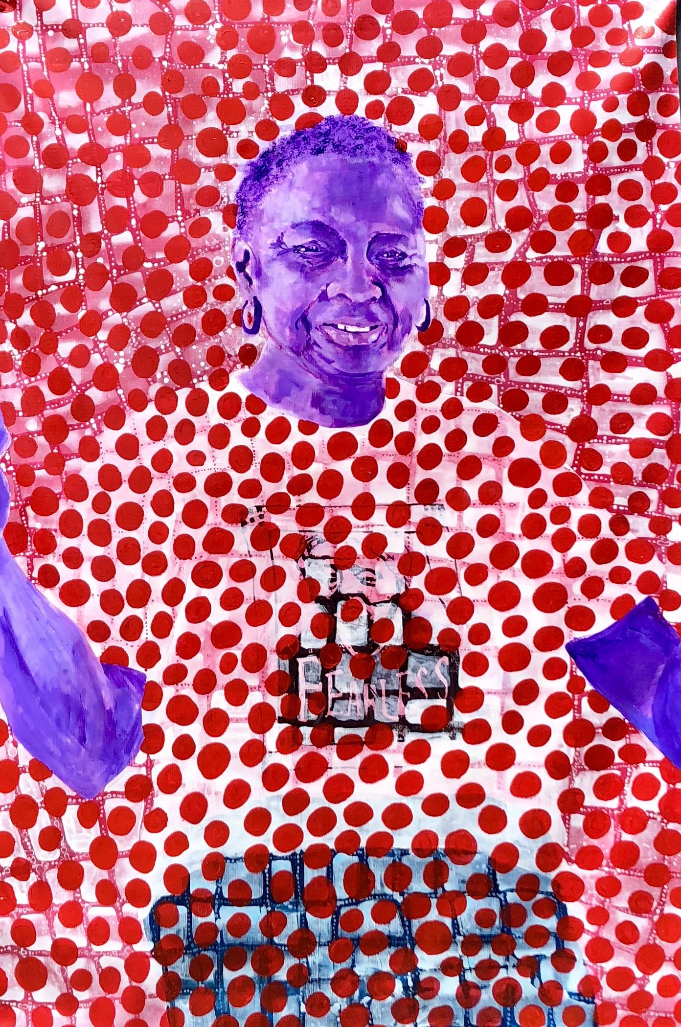 Ms. Sherie -- Betye Saar -- Personae, 1996, Wood, bone, ceramic, metal and glass