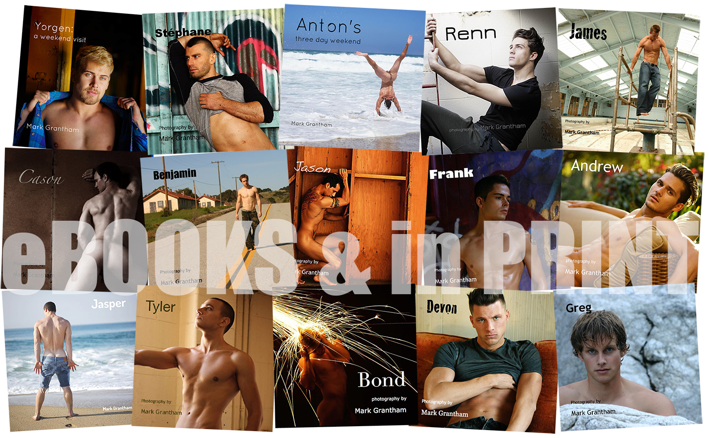 In Print and pixels: some of my most popular men, at their most revealing!