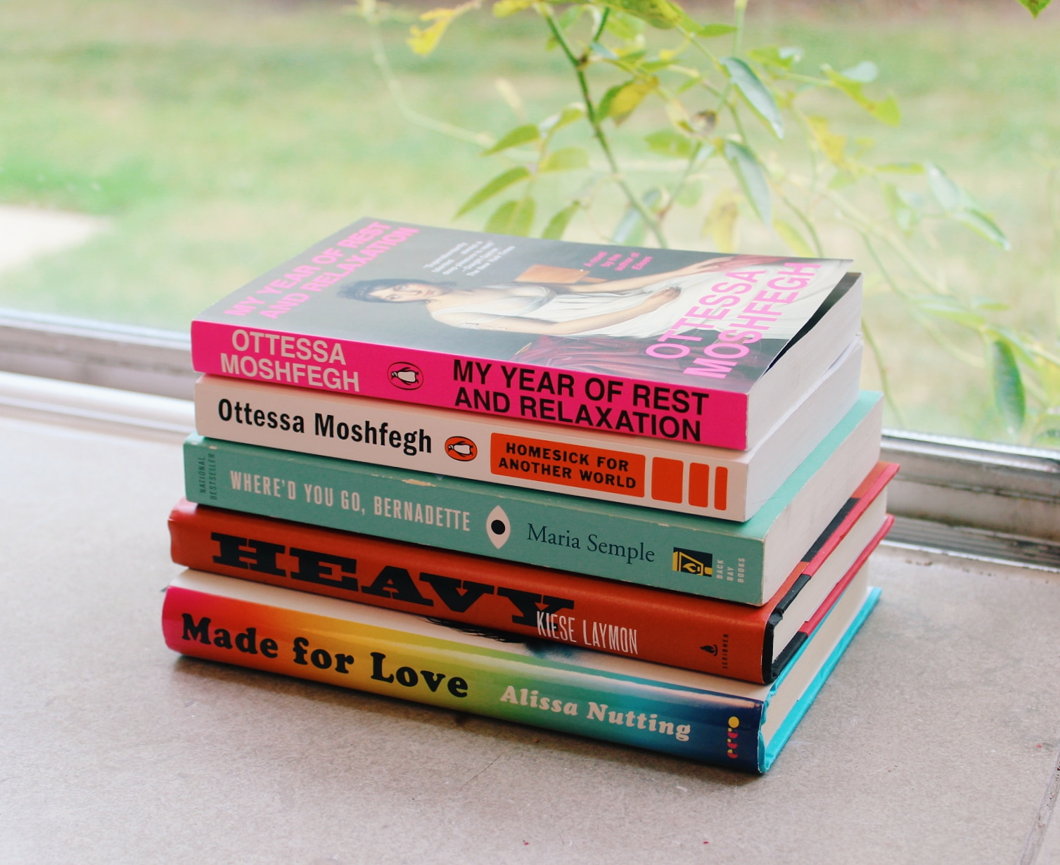 Our summer reading stack