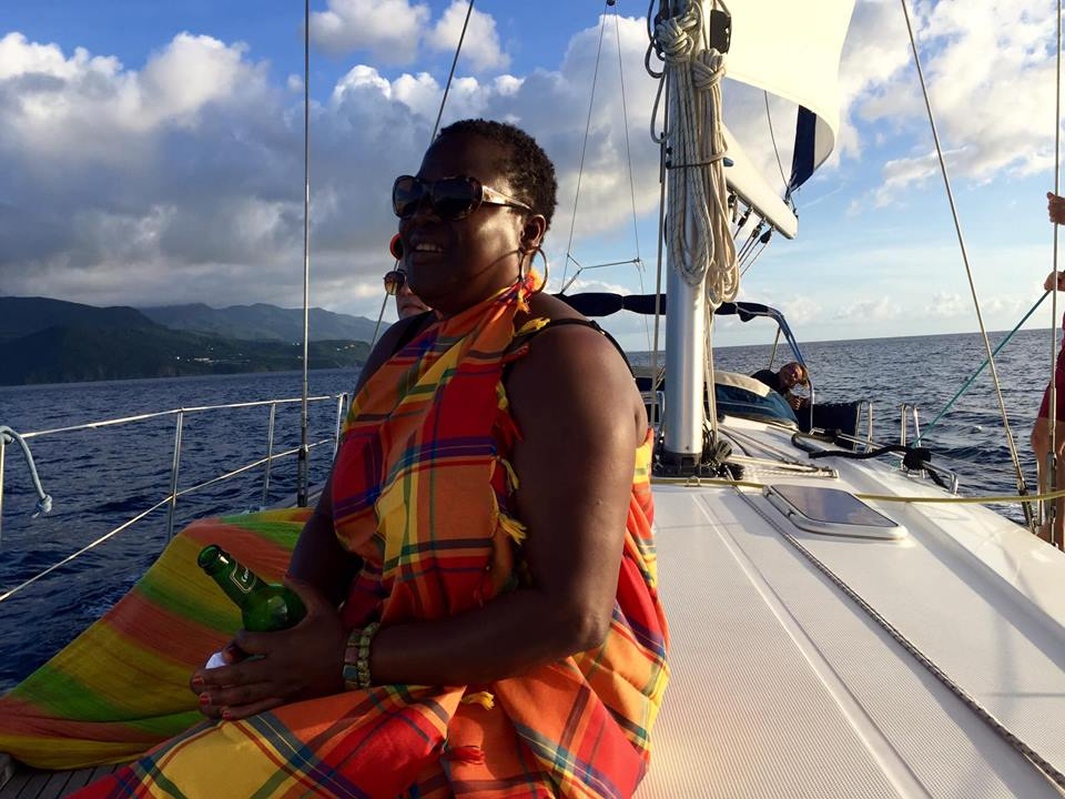Marcia in Guadeloupe (Thanksgiving 2016)