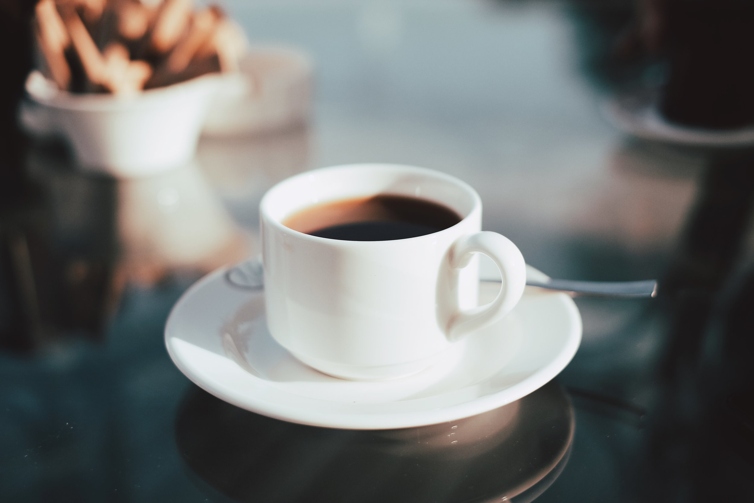 Black licorice and coffee is to be avoided at all costs.