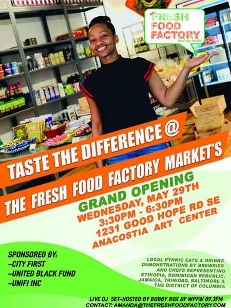 May 29 | Fresh Food Factory Market Grand Opening + Fundraiser - Free