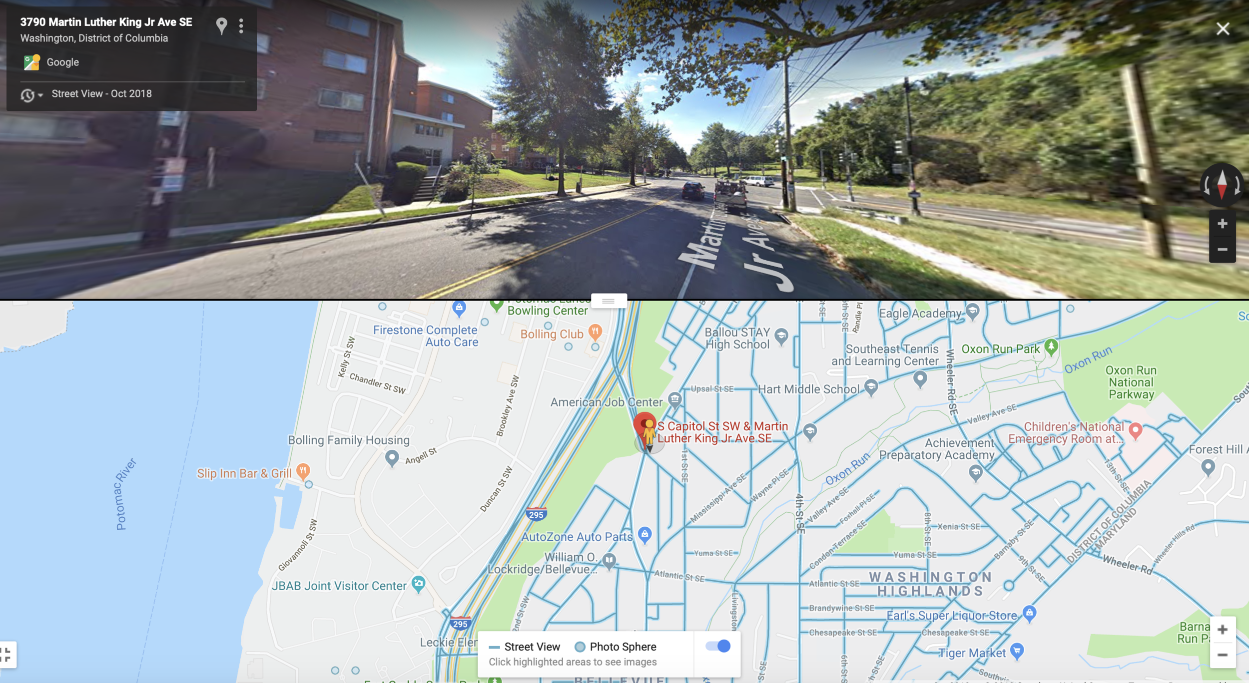 June 22 | Traffic Safety Site Visit for South Capitol Street SW