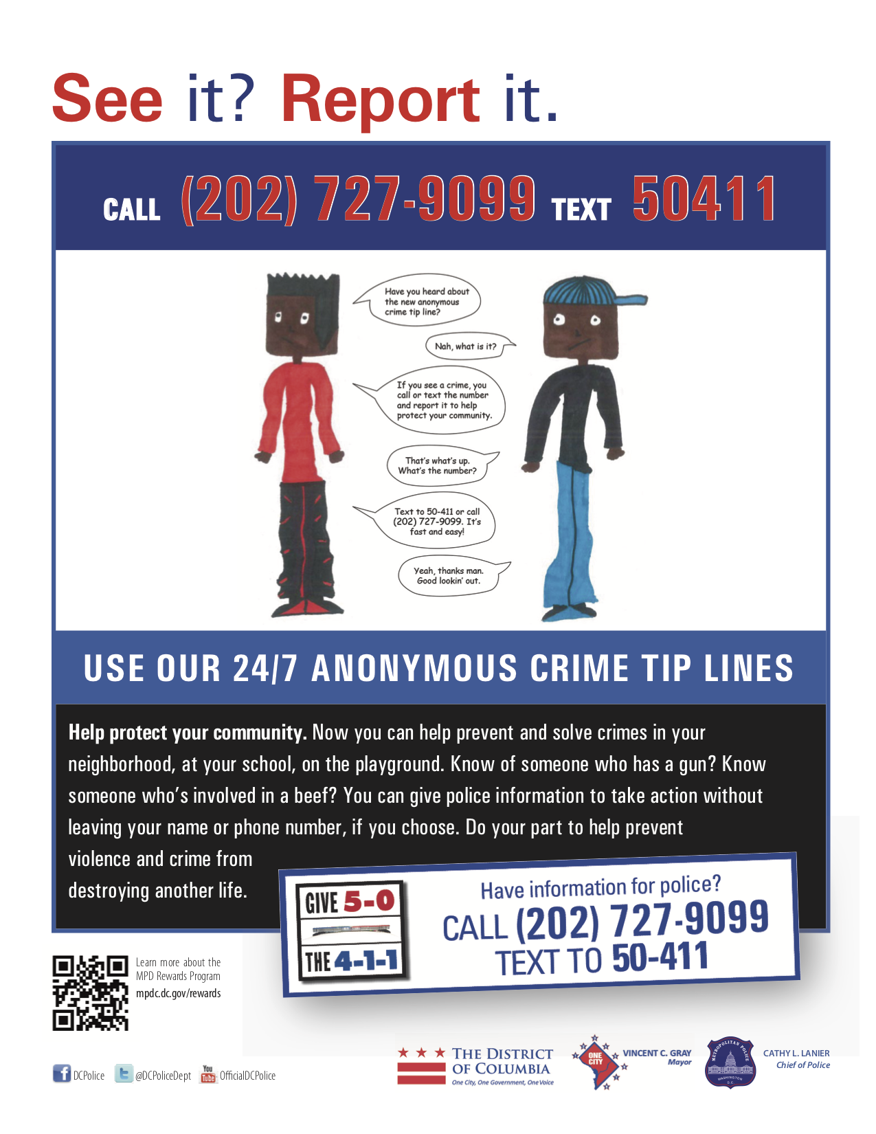 MPD offers a reward up to $2,500 for tips leading to the
