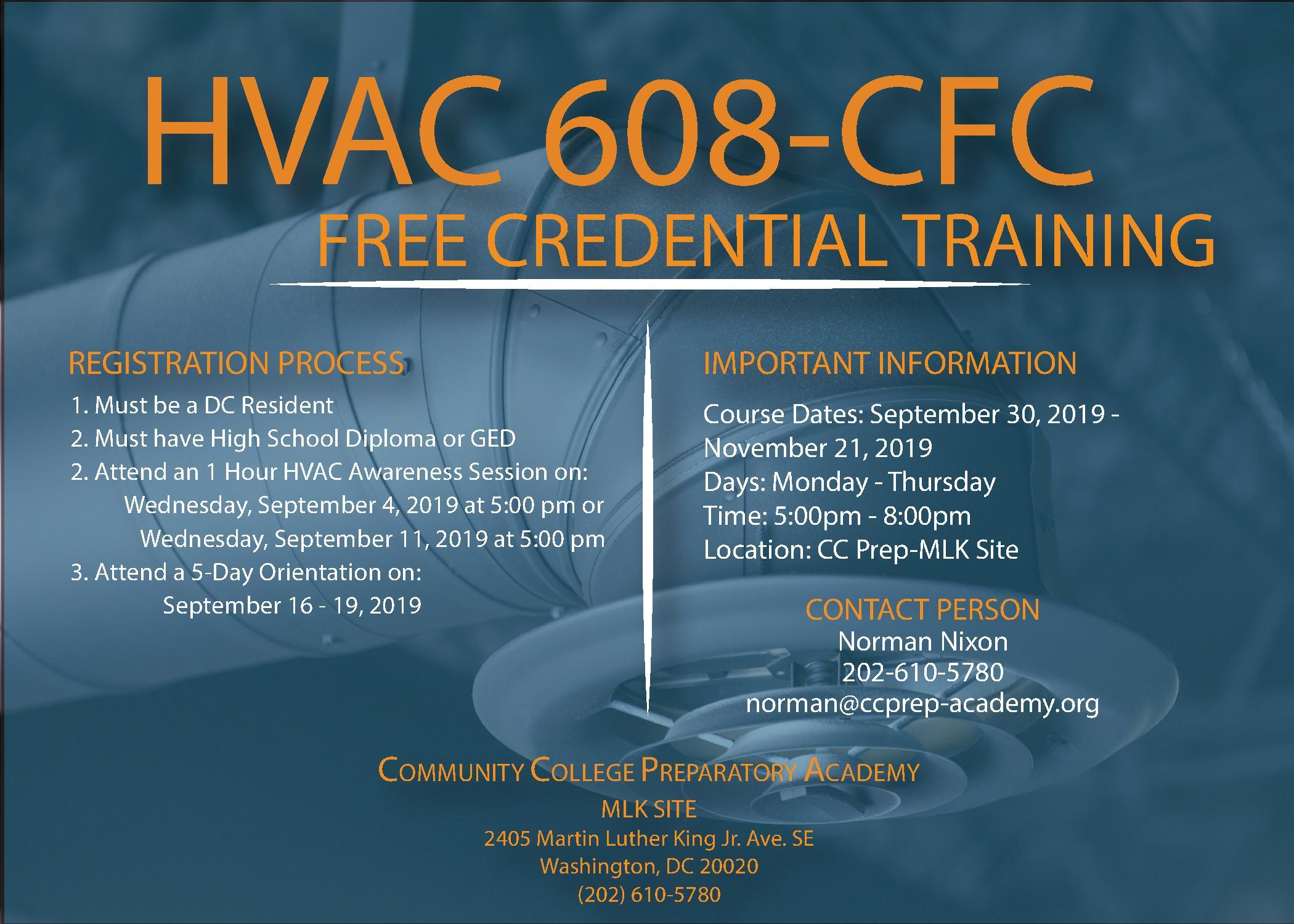 🏆 Sept 4 + 11 | CC Prep Enrollment Info Session for Free