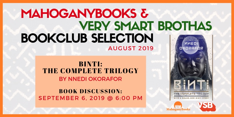 Sept 6 | Binti: The Complete Trilogy Book Discussion - Free