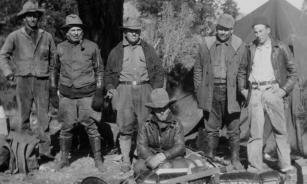 Some outdoorsmen friends approached Mr. Corkin in the early 1920's and offered to partner with him on a rustic wilderness camp up in the mountains of the upper Chama River valley, proposing that he run the place for them all.