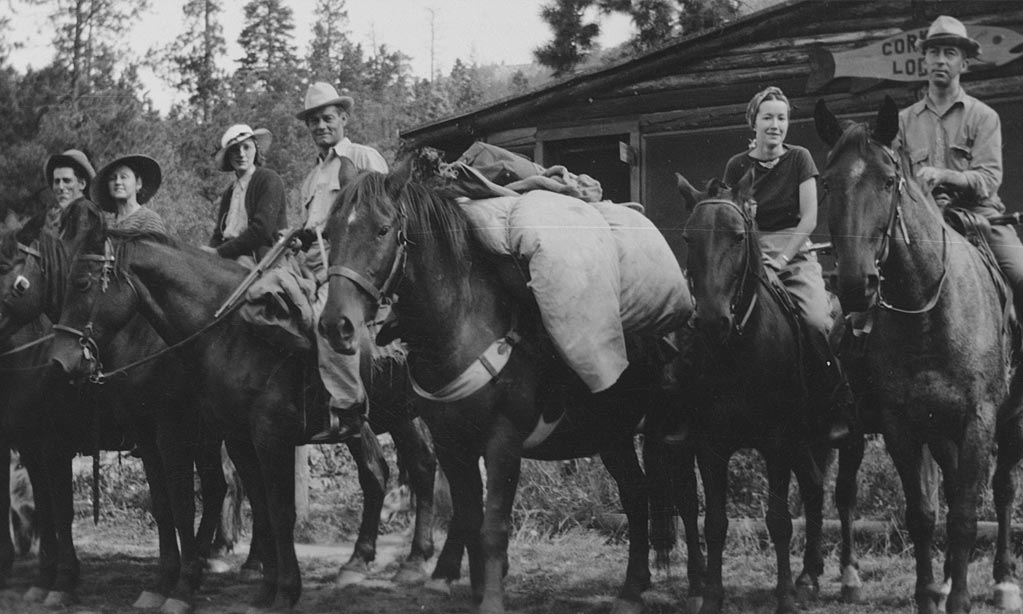 They offered guests home-cooked meals, snug cabins and guided hunting and fishing trips on horseback up through the scenic high country and into the extraordinary Brazos River box canyon.