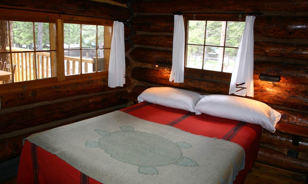 The walkthrough bedroom