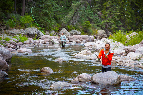Activities & Attractions - Guests at Corkins Lodge enjoy the very best access to outdoor recreation and activities. Visitors enjoy the following:Fly Fishing (no license needed)Trout-stocked Pond Fishing (no license needed)HikingPool or River SwimmingCumbres & Toltec Scenic Railroad
