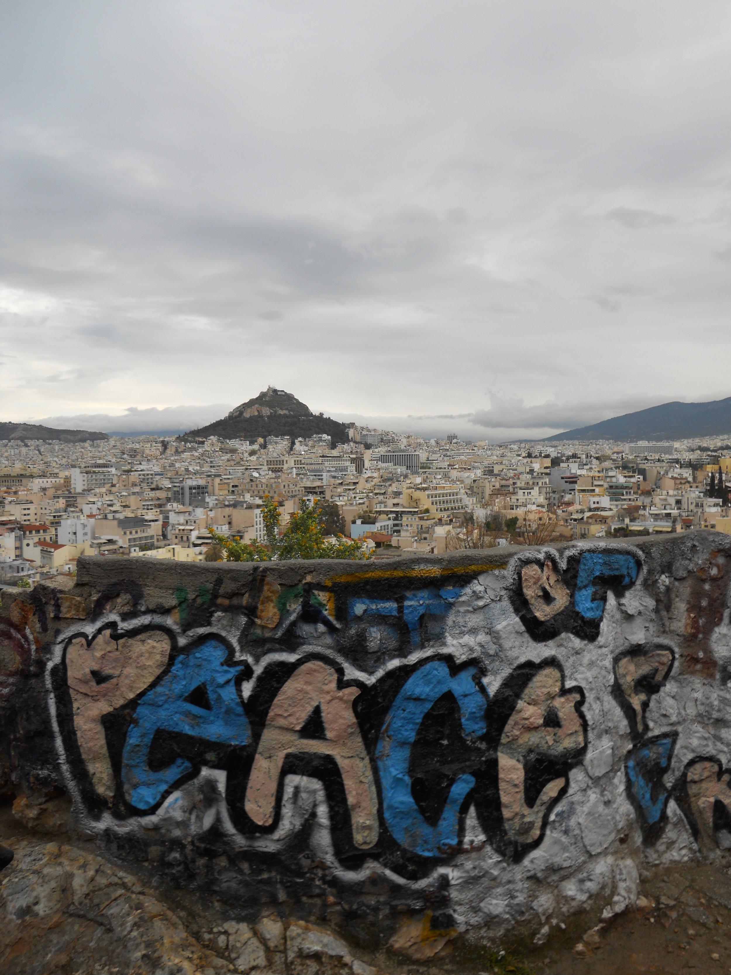 Athens, Greece - Near the Acropolis