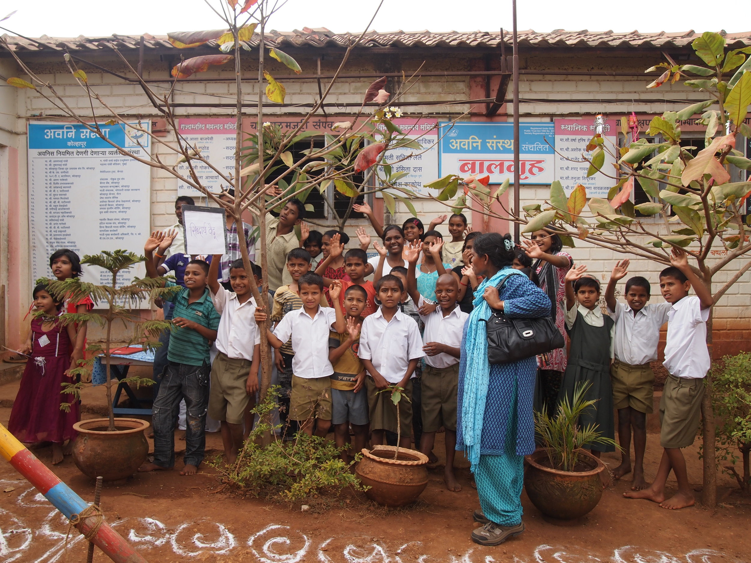 Providing Youth Safety and Education - AVANI School for Children, India