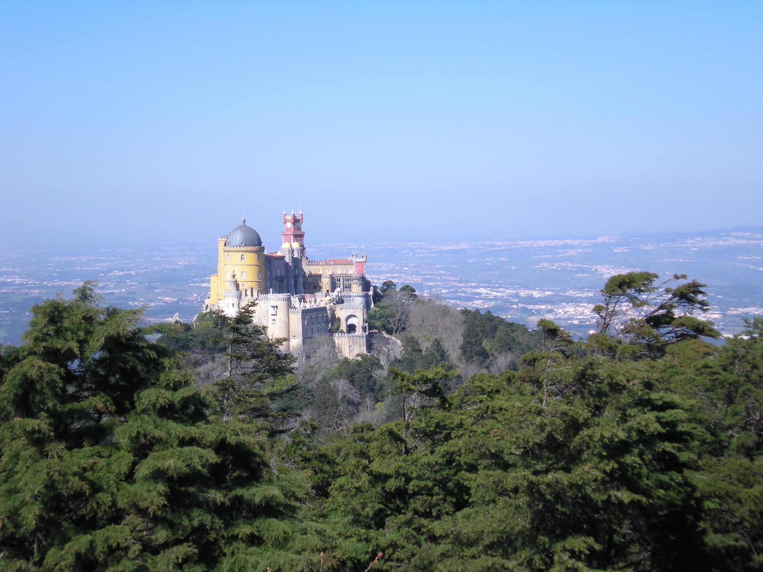 Palacio Pena, Sintra, Portugal