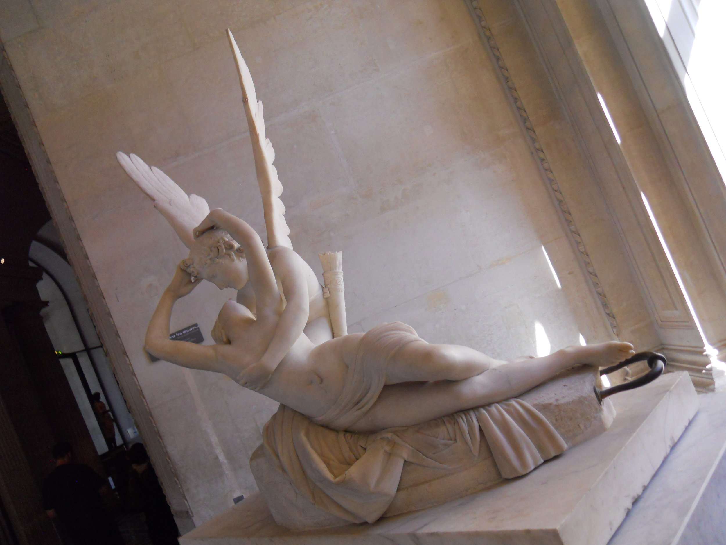 Psyche Revived by Cupid's Kiss, The Louvre, Paris, France