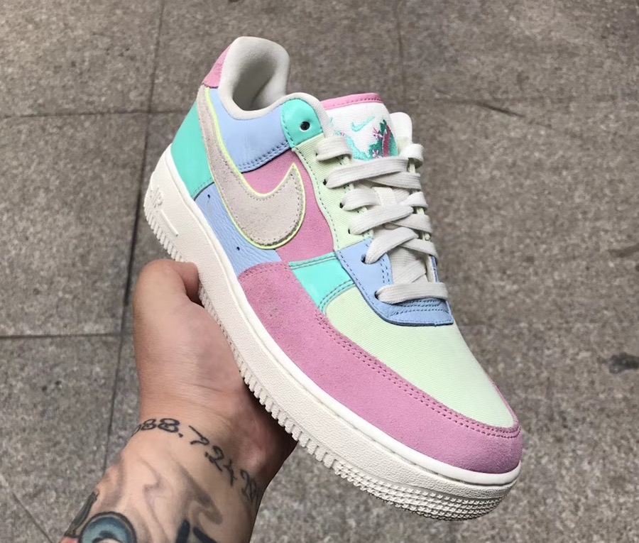 """THE NIKE AIR FORCE 1 LOW """"EASTER EGG"""