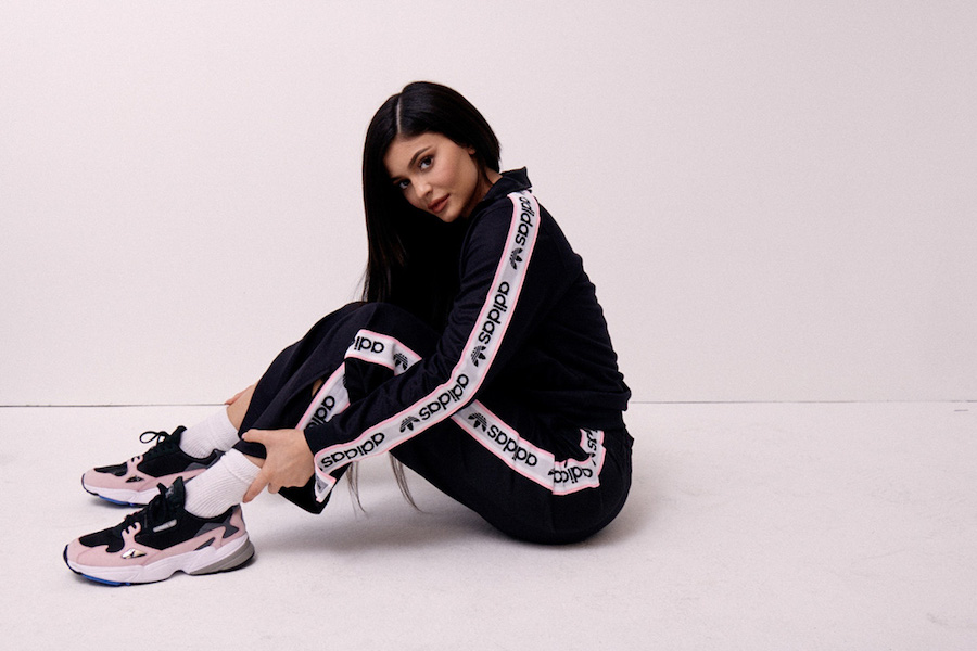 KYLIE JENNER TEAM UP WITH ADIDAS FOR