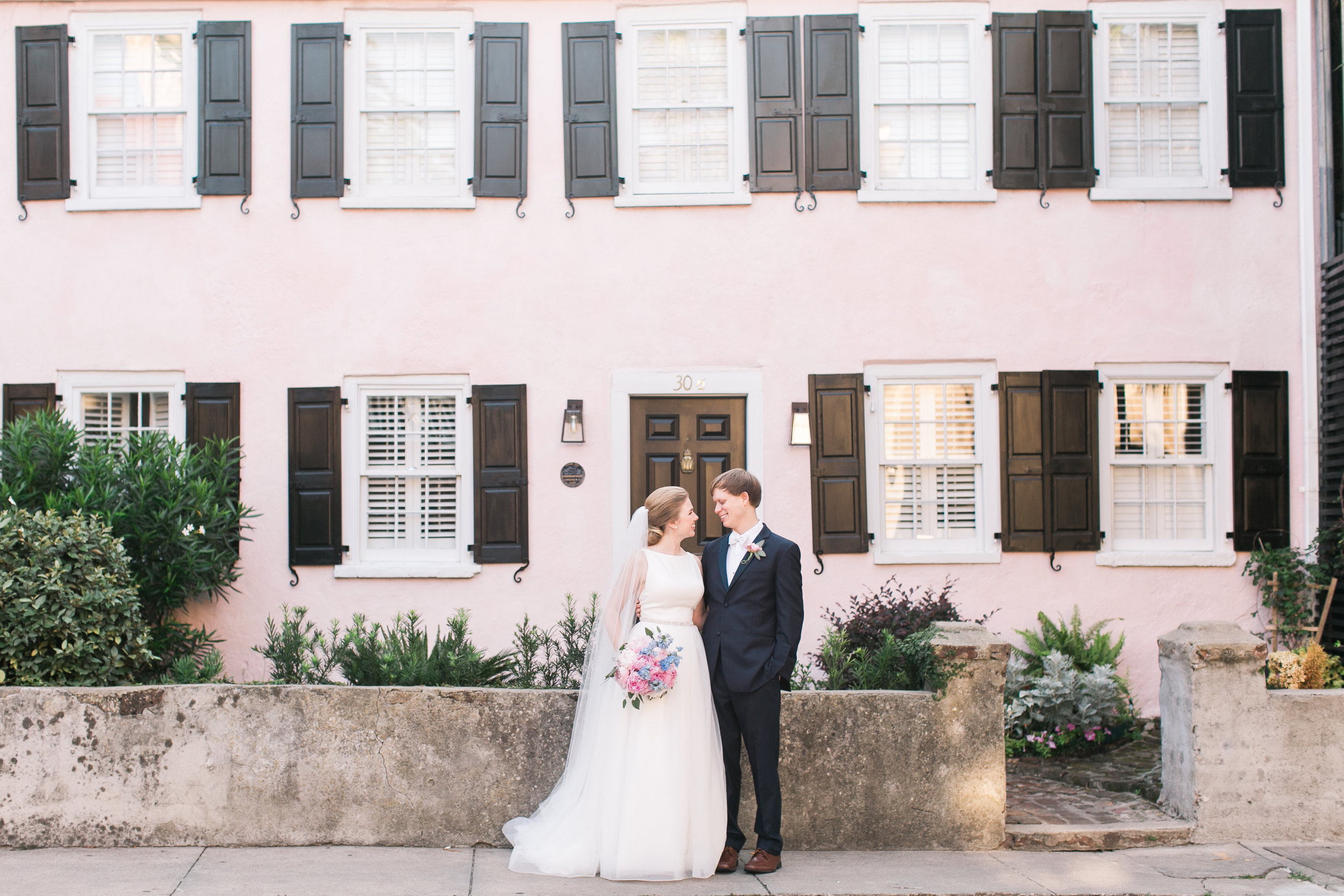 hannah + joseph   Venue:  The Rice Mill  | Planner:  Kirsten Nappi  | Photography:  Meredith Jamison  | Florals:  Anna Bella Florals